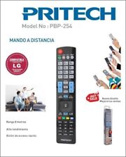 Mando a Distancia TV Compatible con LG Mando Television Televisor LCD LED Plasma