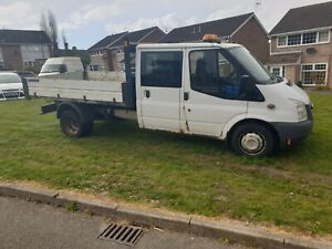 2012 ford transit double cab tipper