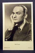 Willi Forst - Actor Movie Photo - Film Autogramm-Karte AK (Lot-G-8151