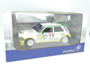 Solido 1/18 - Renault Maxi 5 Turbo Rallye Des Garrigues 1986