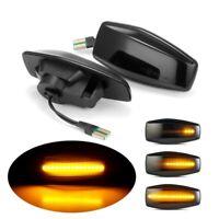 2x LED Warm Lights Dynamic Side Marker Turn Signal Lamp Fit for Hyundai Elantra