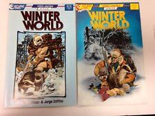 Winter World 1 2 3 Chuck Dixon mini series 1987 1988