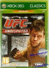 Microsoft jeu video pour console X-BOX 360 UFC 2009 UNDISPUTED combat mma NEUF