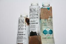 New listing 3 Punctured Winsor & Newton Oil Paint's-37mL All series 1
