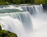 New York NIAGARA FALLS Glossy 8x10 Photo Waterfall Print Wall Art Poster