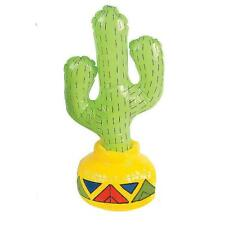 "17"" Gonflable Blow Up CACTUS DESERT Fiesta Cowboy Themed Party Toy gonfler"