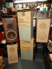 Vintage KLH Model 20 Speakers in Original Boxes