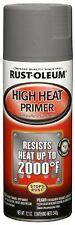 RustOleum 249340 Automotive 12Ounce High Heat Primer Spray Paint, Gray