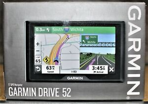 "Garmin Drive 52 GPS Navigator w/ 5"" Display"