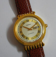 HMT Roman Automatic Collectible watch, Golden Dial Brand New - Never worn