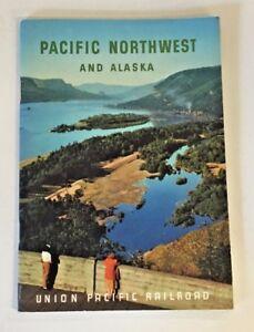 Vintage 1955 Pacific Northwest Alaska Union Pacific Railroad Souvenir Train Trip