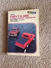 Clymer Chevy & GMC C-Series Pickups Suburbans 1967-1984 Gas & Diesel  A238