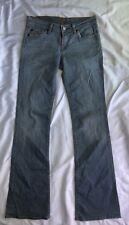 7 For All Mankind Women's Blue Denim Bootcut Jeans sz 26