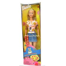 2000 Special Edition Chucke Cheese Barbie Doll New in WORN Box
