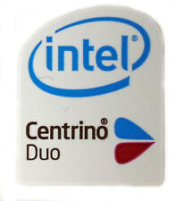 Intel Centrino Duo sticker logotipo pegatinas 16x20mm (123)