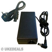 16V 4A para Sony Vaio VGP-AC16V8 AC Adaptador Cargador PSU + cable de alimentación de la UE uked