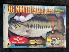 Big Mouth Billy Bass Sings For The Holidays in Box Jingle Bells original box