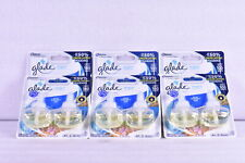 Lot Of 6 Glade Plug Ins Scented Oil, Blue Odyssey Scent, (12 total refills)