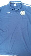 Inaria TechPlay World Wide Soccer Pro Training shirt navy blue size Xxl