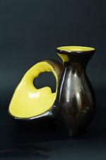 LAMPE DESIGN  céramique vintage VALLAURIS Ceramidi 1950 SV JOUVE BLIN FORME RARE