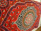 Tapestry floral mandala Celtic bright colorful 81X54