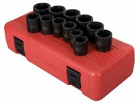 Sunex 2692 Tools 12-piece 1/2 In. Drive Metric Impact Socket Set