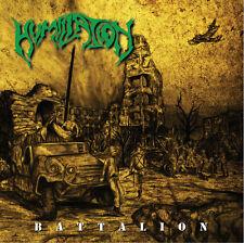 HUMILIATION-BATTALION-death metal-bolt thrower-cancer-demigod