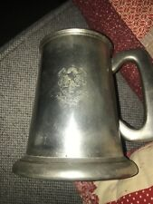 English Pewter Tankard with State of Connecticut Coat of Arms