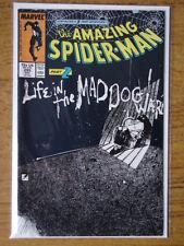 SPIDERMAN AMAZING #295 VF+ (8.5) MAD DOG WARD