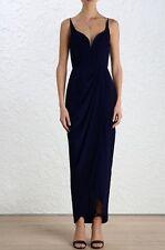 Zimmermann Silk Drape Long Dress | Formal / Bridesmaid | French Navy  $750 RP