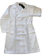 Natural Uniforms White Unisex 40 inch Lab Coat Size Xl Nwt