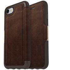 Otterbox STRADA premium leather flip case for iPhone 7, 8  77-56778 ESPRESSO