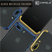 For iPhone X 10 8 6s 6 7 Luxury Ultra Slim Shockproof Silicone Clear Case Cover