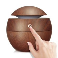 USB Aroma Humidifier ESSential Oil Diffuser With 7 Color Change LED Night light