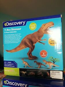 Discovery T Rex Dinosaur 5 Piece Collection Toy