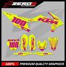 Custom MX Graphics Kit: KTM SX 50 SX 65 2002 - 2021 - BLOCK YEL/PINK