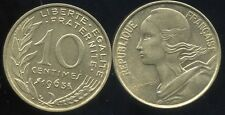 FRANCE  FRANCIA  10 centimes 1963       SUP +   ( bis )