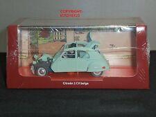 TINTIN BOOK COMIC CASTAFIORE EMERALD CITROEN 2CV DIECAST MODEL CLASSIC CAR