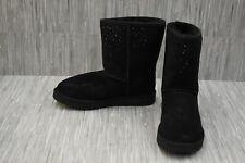 +UGG Classic Short StarGirl Suede 1098474 Boots, Women's Size 11, Black