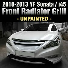 FRONT Hood Radiator Grill Unpainted For HYUNDAI 2011 - 2014 YF Sonata / i45