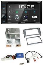Kenwood USB DVD DAB Lenkrad Bluetooth 2DIN Autoradio für Toyota Auris 2007-2011