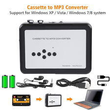 Cassette to MP3 Converter Tape to USB U Flash Drive Music Capture Walkman Player