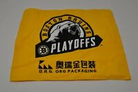 2019 BOSTON BRUINS NHL PLAYOFFS YELLOW RALLY TOWEL STANLEY CUP FINAL GAME 7