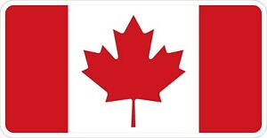 Canadian Flag Logo Decal / Sticker MV