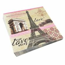 Decoupage Napkins Paper Wedding Tower Triumphal Arch Vintage Servilletas Decor