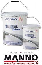 Alluminio Resinoso SILVERSOL 20 lt impermeabilizzante per manti bitumosi - tetti