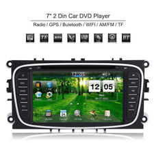 "2DIN 7"" Táctil TFT 800*480 LCD Radio DVD Reproductor GPS Player para Ford Focus"