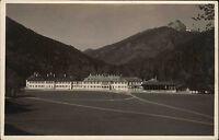 Tegernsee Bayern alte Ansichtskarte ~1930 Teilansicht mit Blick auf die Berge
