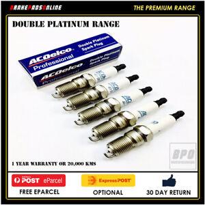 Spark Plug 5 Pack for Audi 100 CD 2.3L 5 CYL NF 1/88-6/05 41802