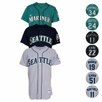 Seattle Mariners Authentic On-FIeld Classic Jersey Collection MAJESTIC - Men's
